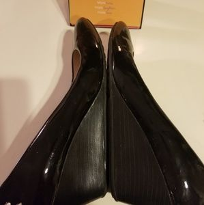 Cole Haan Patton leather wedges 9.5B